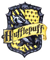 Hufflepuff House shield